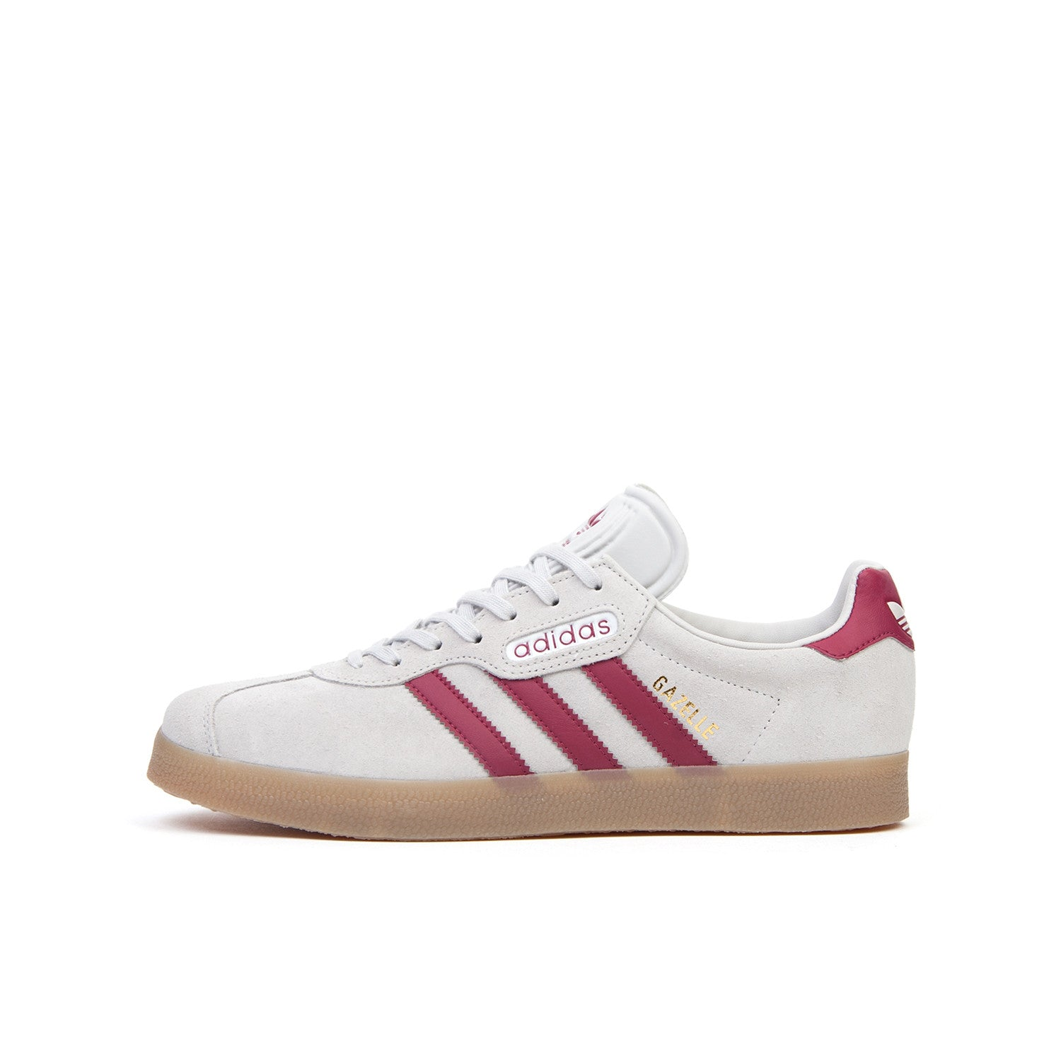 adidas Originals Gazelle Super Grey/Mystery Rubin - Concrete