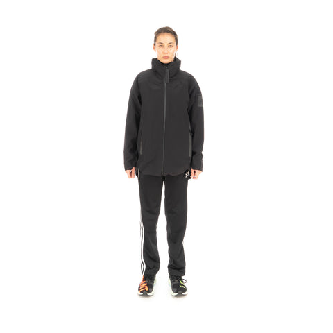 adidas Originals W Myshelter Three-In-One Rain Parka Black