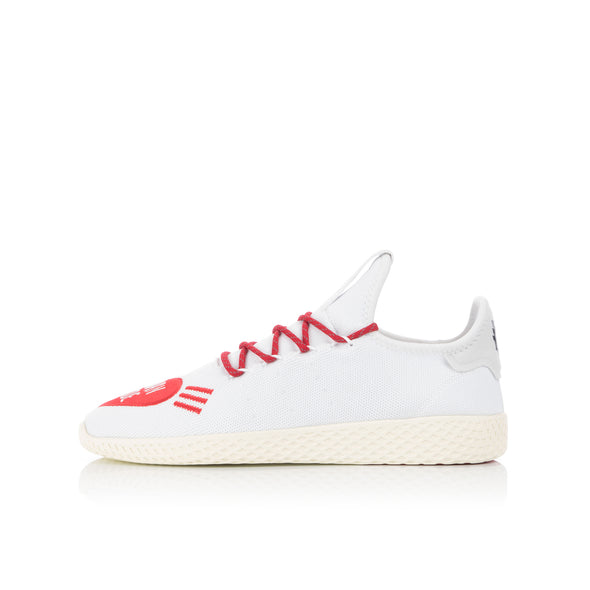 adidas Originals x Pharrell Williams Tennis Hu Human Made Cloud White / Scarlet