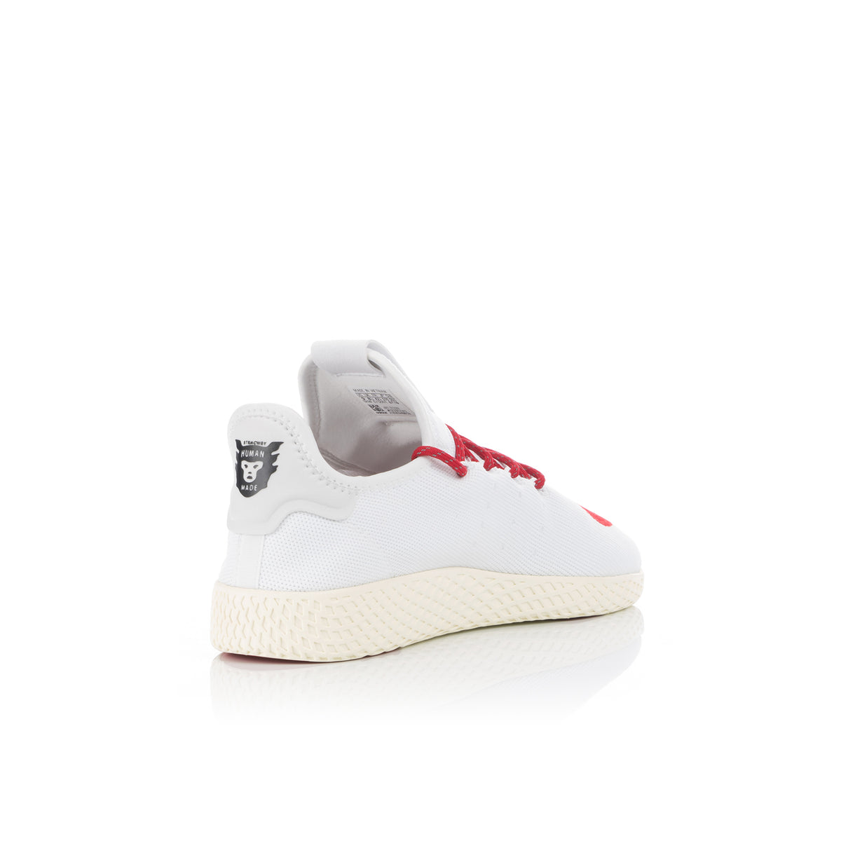adidas Originals x Pharrell Williams Tennis Hu Human Made Cloud White Scarlet