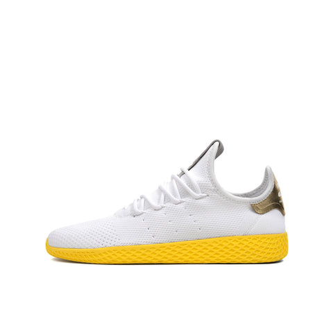 adidas Originals x Pharrell Williams Tennis Hu White/Yellow