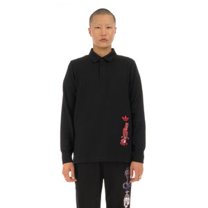 adidas Originals | x Tanaami Galllery Rugby Shirt Black
