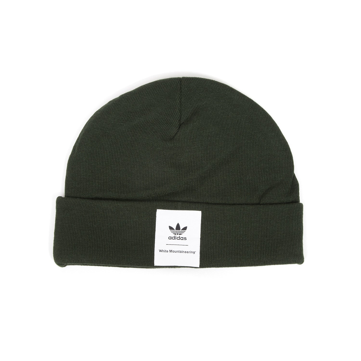 adidas Originals x White Mountaineering Beanie Night Cargo – Concrete 455145886423