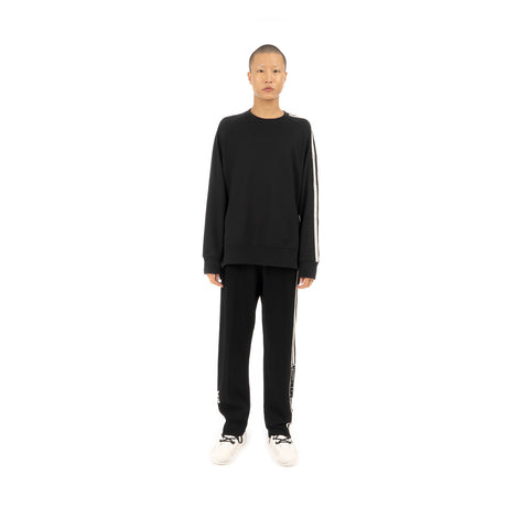 adidas Y-3 M 3STP FT Crew Sweater Black - FJ0388