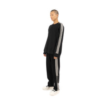 Afbeelding in Gallery-weergave laden, adidas Y-3 M 3STP FT Crew Sweater Black - FJ0388