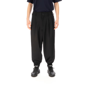 adidas Y-3 M CRFT 3 Stripes Cuff Pants Black - FN3403