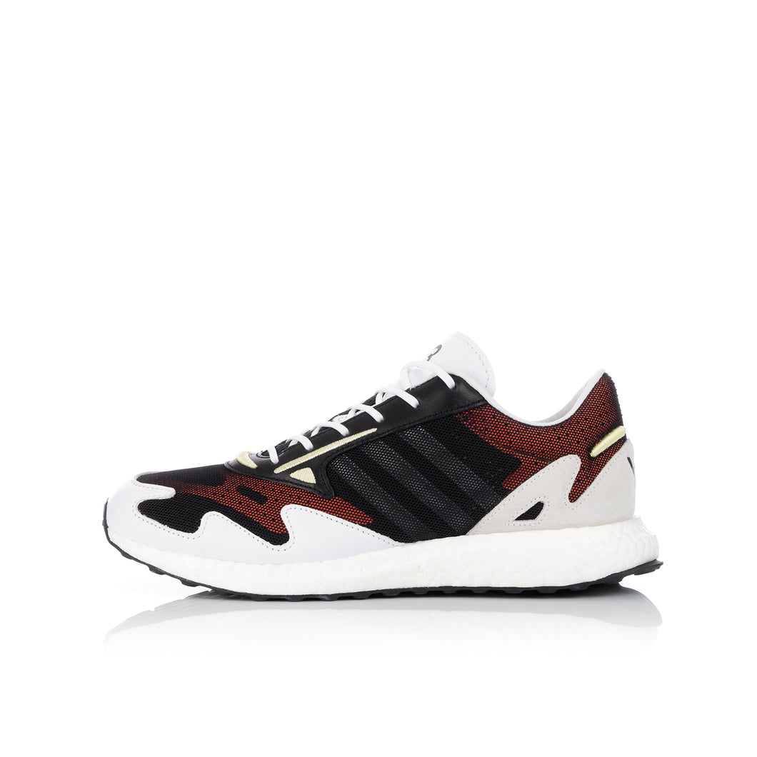 adidas Y-3 | Rhisu Run Black / White - FU9180
