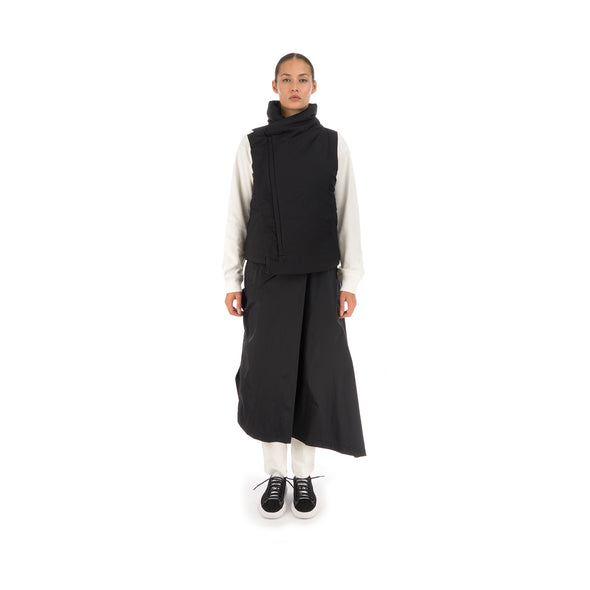 adidas Y-3 W Asymetric Shell Track Skirt Black - FJ0286