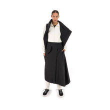 將圖像加載到畫廊查看器中adidas Y-3 W Asymetric Shell Track Skirt Black - FJ0286