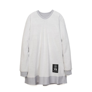 adidas Y-3 | Sheer Crew Sweater Sheer Grey - CY6842 - Concrete
