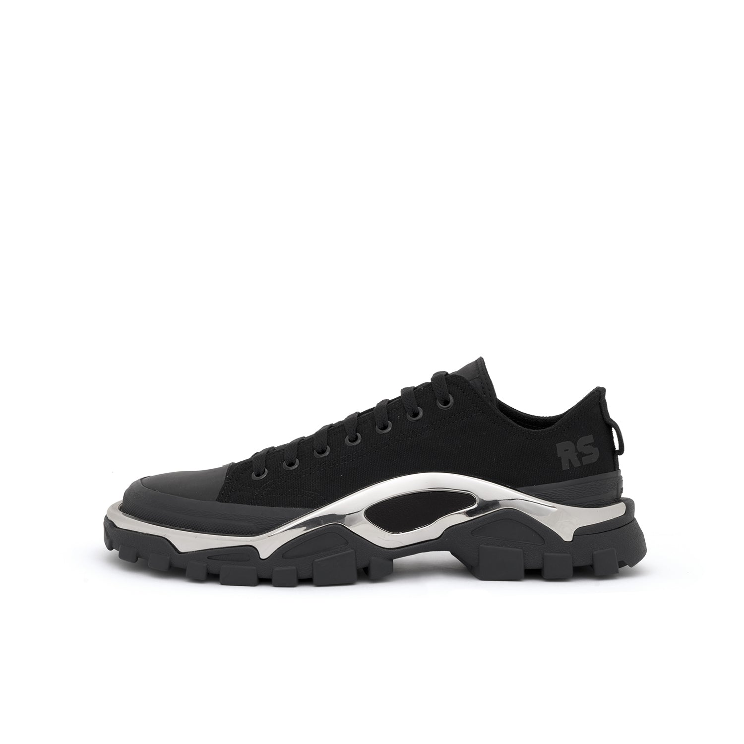 sports shoes 3c36f d69ae adidas x Raf Simons RS Detroit Runner Black  Black – Concret