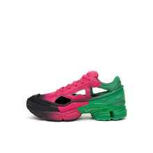 Load image into Gallery viewer, adidas x Raf Simons Replicant Ozweego Green / Pink