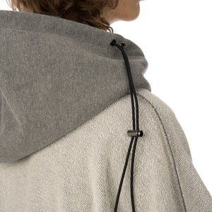 asparagus_ | Inside Out Hoodie Sweater Grey