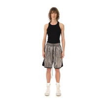 Afbeelding in Gallery-weergave laden, asparagus_ | Inside Out Foil Shorts Silver