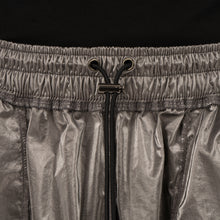Load image into Gallery viewer, asparagus_ | Inside Out Foil Shorts Silver - Concrete