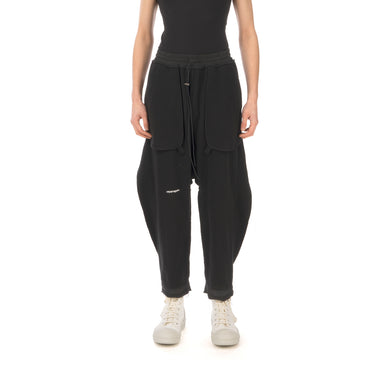 asparagus_ | Inside Out Baggy Sweatpants Black