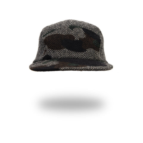 Mr. Bathing Ape 1st Camo Tweed Jet Cap Gray - Concrete