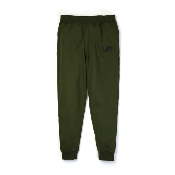 Billionaire Boys Club | Small Arch Logo Sweatpants Olive - Concrete