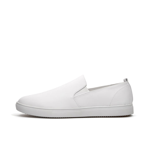 Clae Garvey SP White Tumbled Leather