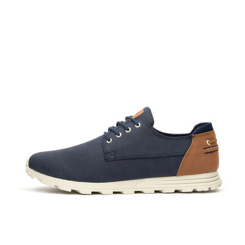 Clae Morgan Navy Synthetic Suede