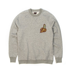 CLOT Sk8thing Banana Crewneck Sweat Heather Grey