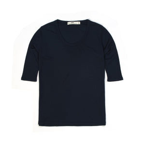 Hope Tyra Tee Dark Blue - Concrete