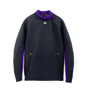 adidas by kolor LS Knit Top Dark Grey/Collegiate Purple/Dark Green - Concrete