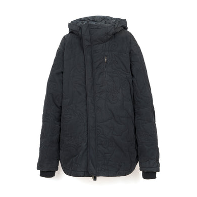 maharishi | Hooded Poncho Jacket Black - Concrete