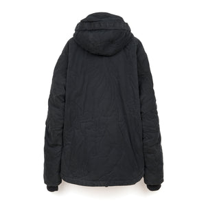 maharishi Hooded Poncho Jacket Black