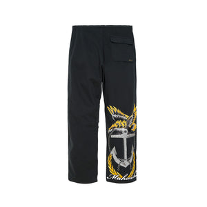 Maharishi Original Snopants Navy Tour Embroidery Black