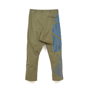 Maharishi Desert Cyclone Pants Triangulation Embroidery Summer Olive