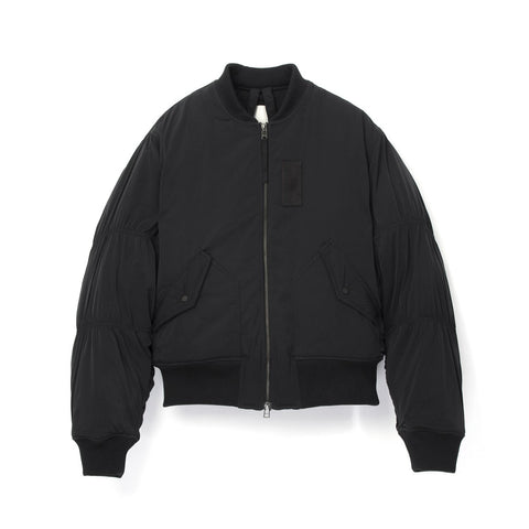 maharishi W Hida Flight Jacket Black