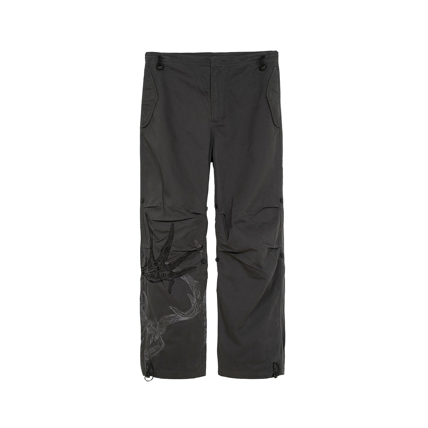 Maharishi Original Snopants Charcoal The Hunted Embroidery