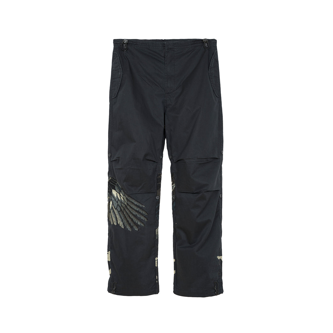 Maharishi Original Snopants Eagle Tour Embroidery Survival Black