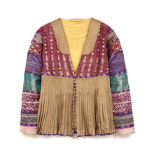 Load image into Gallery viewer, Maharishi Wmns Tibetan Bells Button Jacket Recycle
