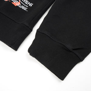 maharishi Militype Crew Sweat Black
