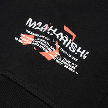 Load image into Gallery viewer, maharishi Militype Crew Sweat Black