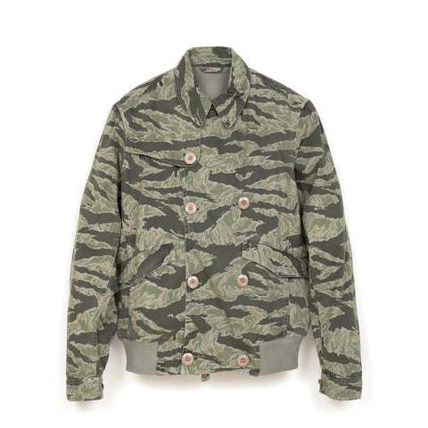 maharishi Tiger Short Rib Jacket DPM Tigerstripe