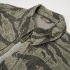 maharishi Tiger Short Rib Jacket Grey Tigerstripe