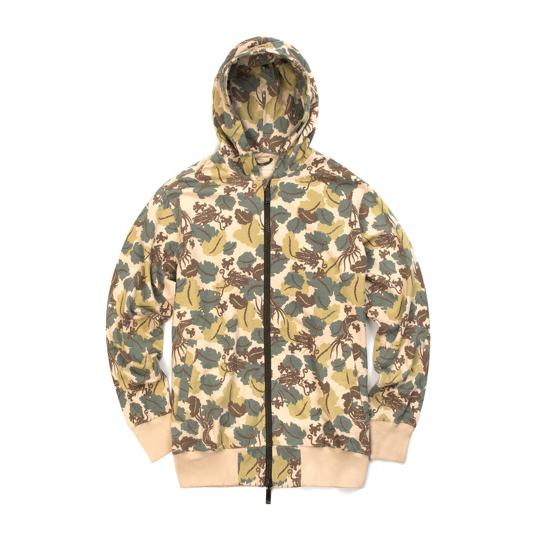 maharishi | A8 Hooded Sweat Woodland - Concrete