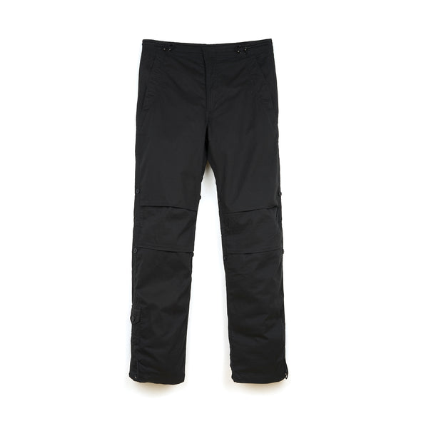 maharishi | Fixed Original Snopants Straight Fit Leather Nametape Black - Concrete
