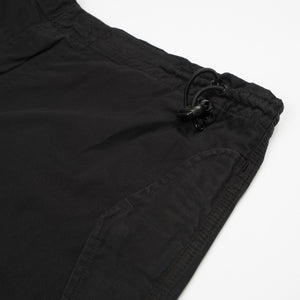 Maharishi Original Snopants Loose Fit Leopard Palm Embroidery Black