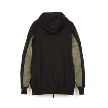將圖像加載到畫廊查看器中maharishi | Cargo Net Hooded Sweat Black/Maha Olive - Concrete