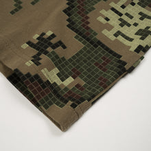 Load image into Gallery viewer, maharishi Pixel Panther Slouch T-Shirt Maha Olive