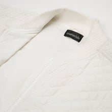 Load image into Gallery viewer, maharishi | Summer Quilt Aviator Jacket White - Concrete