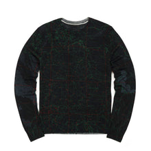Load image into Gallery viewer, maharishi | MAH.SAT. Knit Crew Black - Concrete