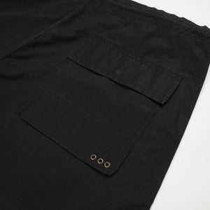 Maharishi Original Snopants Ferryman Embroidery Black