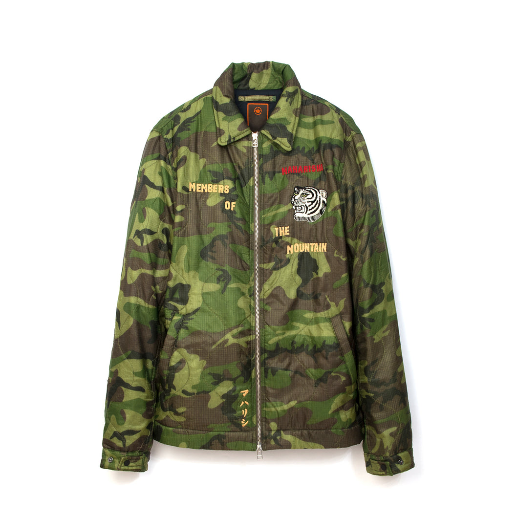 maharishi | maha World Tour Jacket Woodland - Concrete
