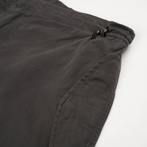 Maharishi | Original Snopants Loose Fit Carp Dragon Embroidery Charcoal - Concrete