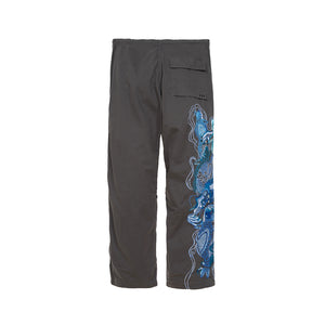 Maharishi | Original Snopants Loose Fit Carp Dragon Embroidery Charcoal
